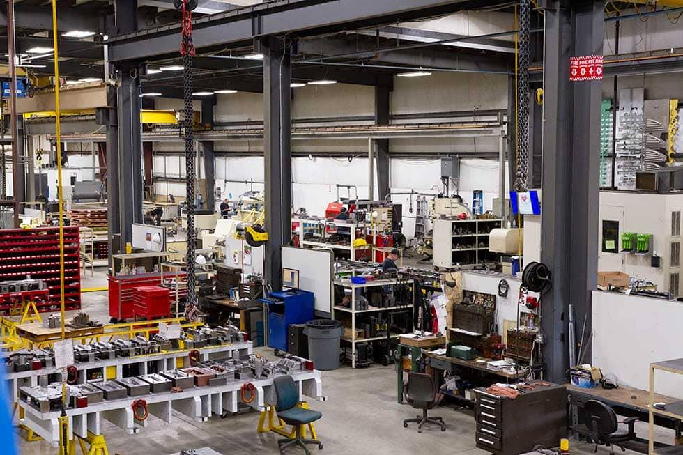 Custom Machinery - Shop Space