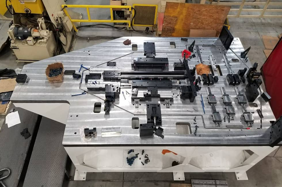 Services | Progressive Dies | Tooling Table One